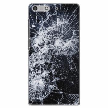Plastové pouzdro iSaprio - Cracked - Huawei Ascend P7 Mini