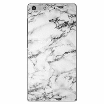 Plastové pouzdro iSaprio - White Marble 01 - Huawei Ascend P7 Mini
