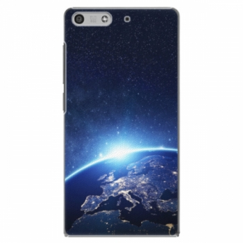 Plastové pouzdro iSaprio - Earth at Night - Huawei Ascend P7 Mini