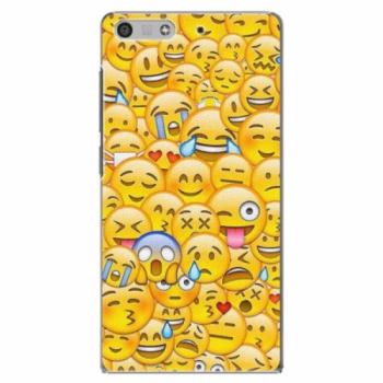 Plastové pouzdro iSaprio - Emoji - Huawei Ascend P7 Mini