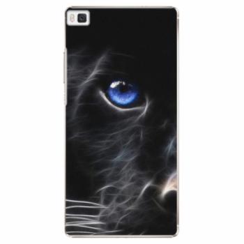 Plastové pouzdro iSaprio - Black Puma - Huawei Ascend P8