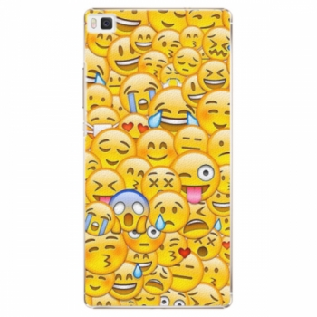 Plastové pouzdro iSaprio - Emoji - Huawei Ascend P8