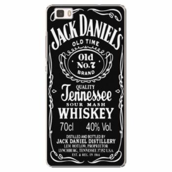 Plastové pouzdro iSaprio - Jack Daniels - Huawei Ascend P8 Lite