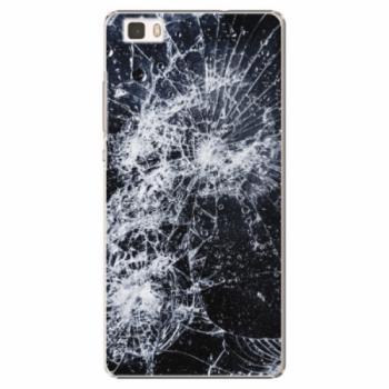 Plastové pouzdro iSaprio - Cracked - Huawei Ascend P8 Lite