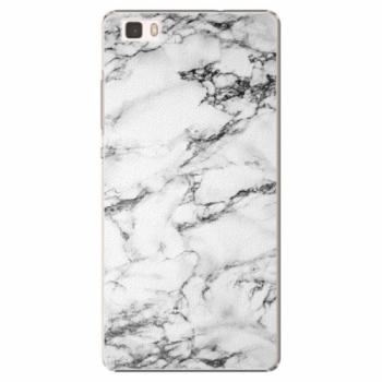 Plastové pouzdro iSaprio - White Marble 01 - Huawei Ascend P8 Lite