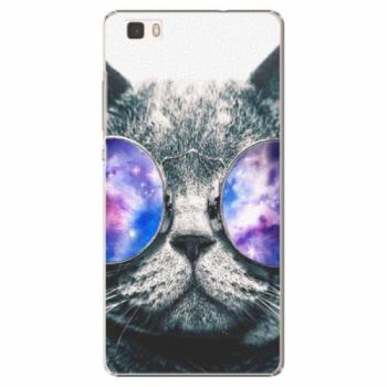 Plastové pouzdro iSaprio - Galaxy Cat - Huawei Ascend P8 Lite