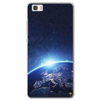Plastové pouzdro iSaprio - Earth at Night - Huawei Ascend P8 Lite