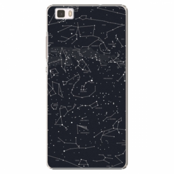 Plastové pouzdro iSaprio - Night Sky 01 - Huawei Ascend P8 Lite