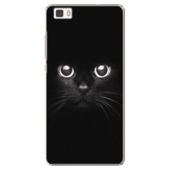 Plastové pouzdro iSaprio - Black Cat - Huawei Ascend P8 Lite