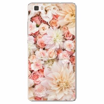 Plastové pouzdro iSaprio - Flower Pattern 06 - Huawei Ascend P8 Lite