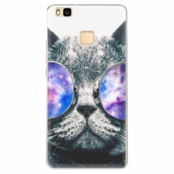 Plastové pouzdro iSaprio - Galaxy Cat - Huawei Ascend P9 Lite