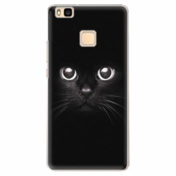 Plastové pouzdro iSaprio - Black Cat - Huawei Ascend P9 Lite