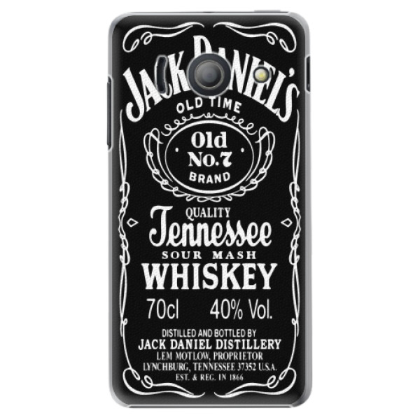 Plastové pouzdro iSaprio - Jack Daniels - Huawei Ascend Y300