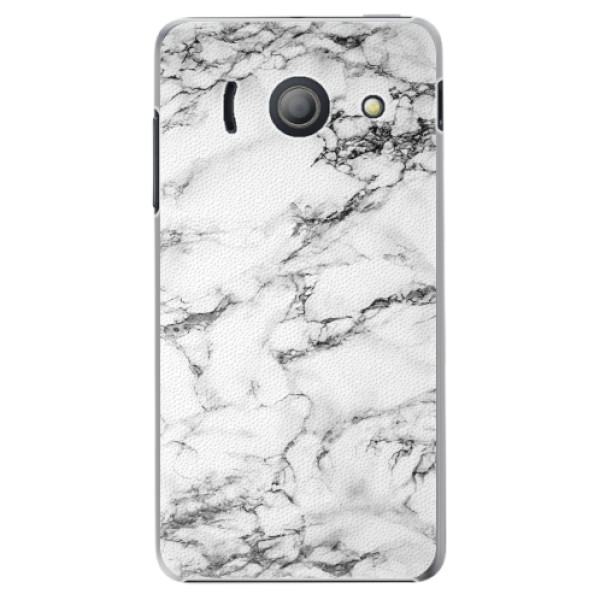 Plastové pouzdro iSaprio - White Marble 01 - Huawei Ascend Y300