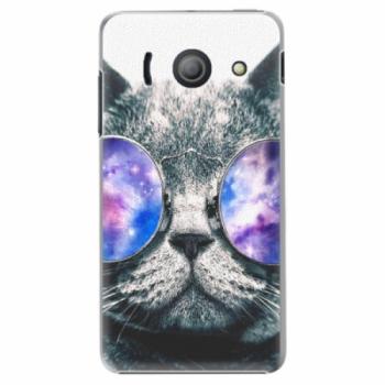 Plastové pouzdro iSaprio - Galaxy Cat - Huawei Ascend Y300