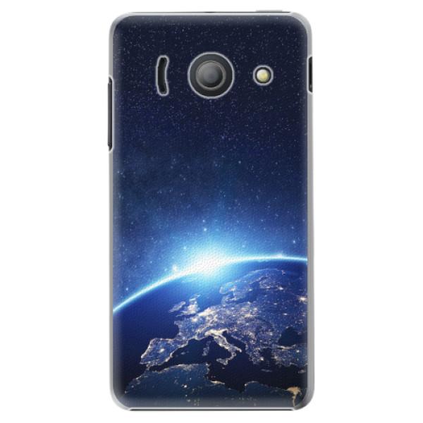 Plastové pouzdro iSaprio - Earth at Night - Huawei Ascend Y300