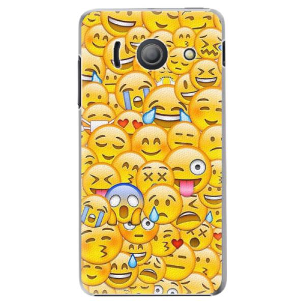 Plastové pouzdro iSaprio - Emoji - Huawei Ascend Y300