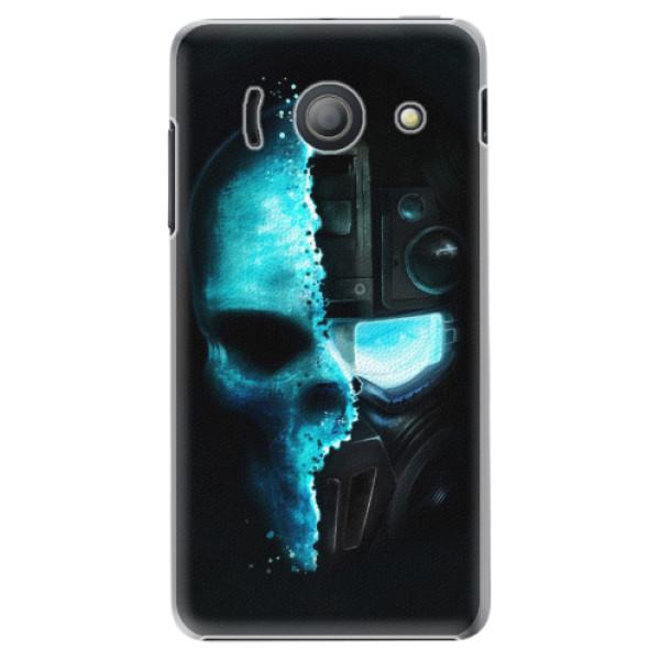 Plastové pouzdro iSaprio - Roboskull - Huawei Ascend Y300