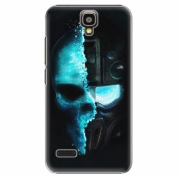 Plastové pouzdro iSaprio - Roboskull - Huawei Ascend Y5