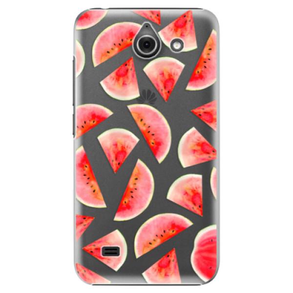 Plastové pouzdro iSaprio - Melon Pattern 02 - Huawei Ascend Y550
