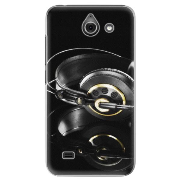 Plastové pouzdro iSaprio - Headphones 02 - Huawei Ascend Y550