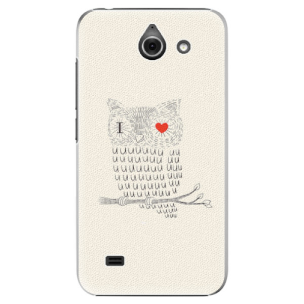 Plastové pouzdro iSaprio - I Love You 01 - Huawei Ascend Y550