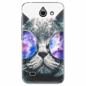 Plastové pouzdro iSaprio - Galaxy Cat - Huawei Ascend Y550