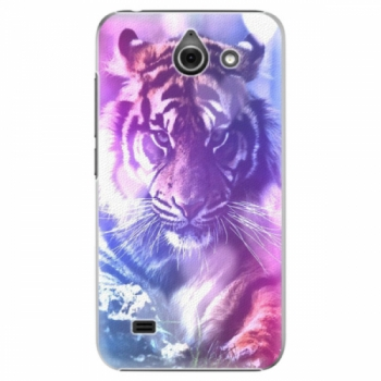 Plastové pouzdro iSaprio - Purple Tiger - Huawei Ascend Y550