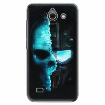 Plastové pouzdro iSaprio - Roboskull - Huawei Ascend Y550