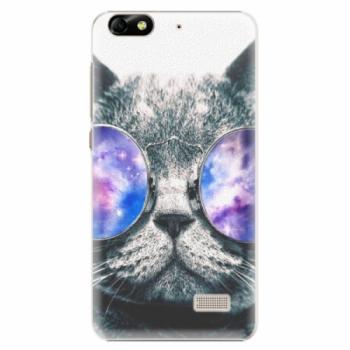 Plastové pouzdro iSaprio - Galaxy Cat - Huawei Honor 4C