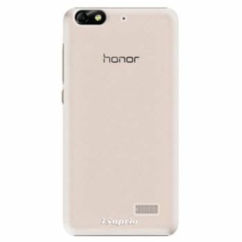 Plastové pouzdro iSaprio - 4Pure - mléčný bez potisku - Huawei Honor 4C