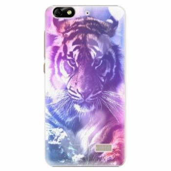 Plastové pouzdro iSaprio - Purple Tiger - Huawei Honor 4C