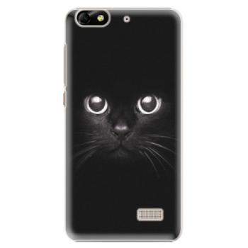Plastové pouzdro iSaprio - Black Cat - Huawei Honor 4C