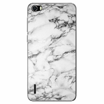 Plastové pouzdro iSaprio - White Marble 01 - Huawei Honor 6