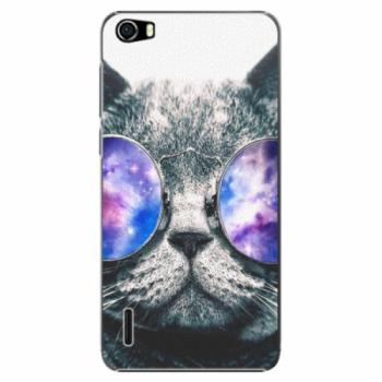 Plastové pouzdro iSaprio - Galaxy Cat - Huawei Honor 6