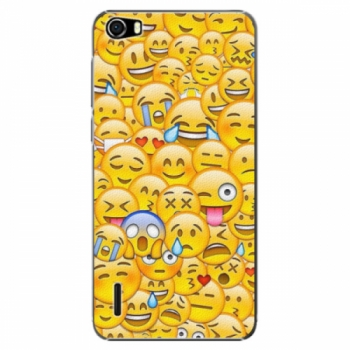 Plastové pouzdro iSaprio - Emoji - Huawei Honor 6
