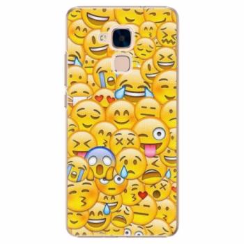 Plastové pouzdro iSaprio - Emoji - Huawei Honor 7 Lite
