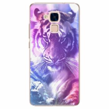 Plastové pouzdro iSaprio - Purple Tiger - Huawei Honor 7 Lite