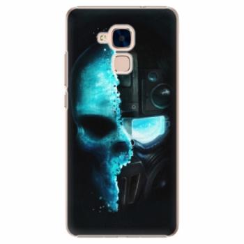 Plastové pouzdro iSaprio - Roboskull - Huawei Honor 7 Lite