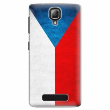 Plastové pouzdro iSaprio - Czech Flag - Lenovo A1000