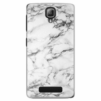 Plastové pouzdro iSaprio - White Marble 01 - Lenovo A1000