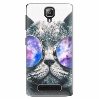 Plastové pouzdro iSaprio - Galaxy Cat - Lenovo A1000