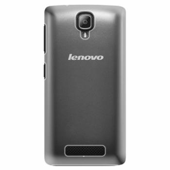 Plastové pouzdro iSaprio - 4Pure - mléčný bez potisku - Lenovo A1000