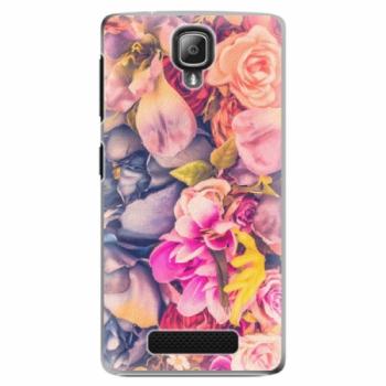 Plastové pouzdro iSaprio - Beauty Flowers - Lenovo A1000