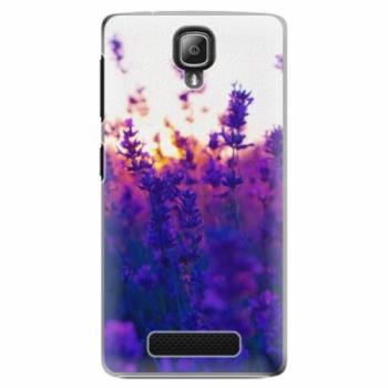 Plastové pouzdro iSaprio - Lavender Field - Lenovo A1000