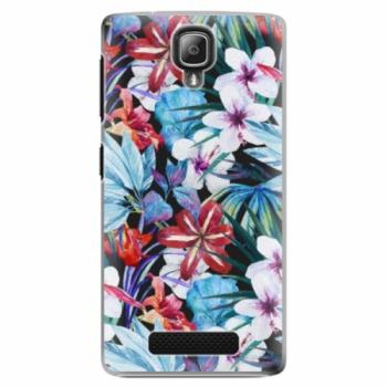 Plastové pouzdro iSaprio - Tropical Flowers 05 - Lenovo A1000