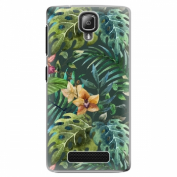 Plastové pouzdro iSaprio - Tropical Green 02 - Lenovo A1000