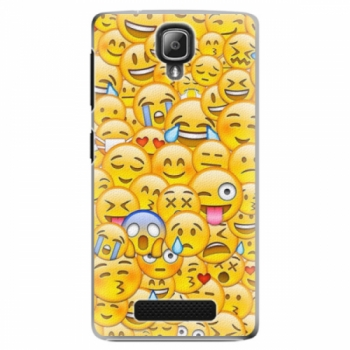 Plastové pouzdro iSaprio - Emoji - Lenovo A1000