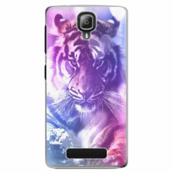 Plastové pouzdro iSaprio - Purple Tiger - Lenovo A1000