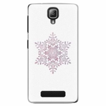 Plastové pouzdro iSaprio - Snow Flake - Lenovo A1000